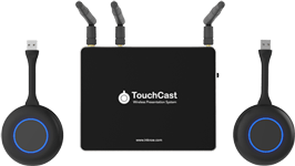 Top view of Inknoe TouchCast